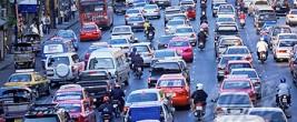Thailand, Bangkok, Traffic, Traffic Jam,